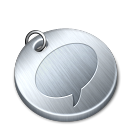 Shiny-messenger icon