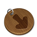 Woody download icon