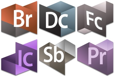 Origami Adobe CS Series 2 Icons