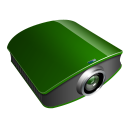 projector green icon