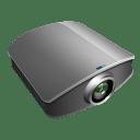 Projector silver icon