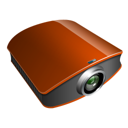 projector amber icon
