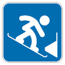 Snowboard-Parallel-Slalom icon