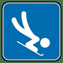Skeleton icon