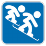 Snowboard-Cross icon