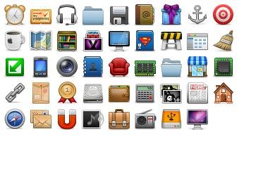 Pixelophilia2 Icons