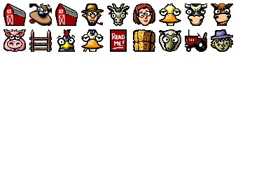 Farmer Dan Icons
