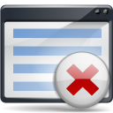 Actions-edit-clear-list icon