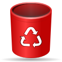 Actions trash empty icon