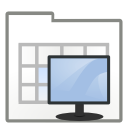 Actions view process system icon