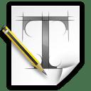 Apps fontforge icon