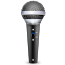 Devices audio input microphone icon