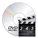 Devices media optical dvd video icon
