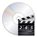 Devices media optical video icon