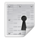 Mimetypes application pgp encrypted icon