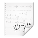 Mimetypes application vnd stardivision math icon