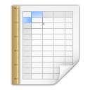 Mimetypes application vnd sun xml calc template icon