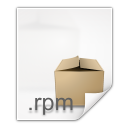Mimetypes application x rpm icon