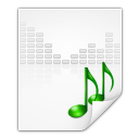 Mimetypes audio x generic icon