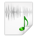 Mimetypes-audio-x-wav icon