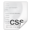Mimetypes text css icon
