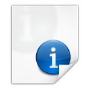 Mimetypes text x texinfo icon