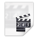 Mimetypes-video-x-generic icon