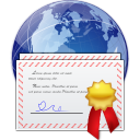 Places certificate server icon