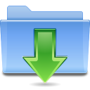 Places-folder-downloads icon