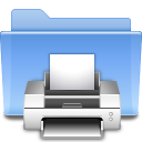Places folder print icon