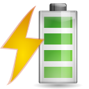 Status-battery-charging icon