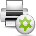 Status printer printing icon