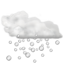 Status-weather-hail icon