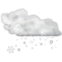 Status weather snow icon