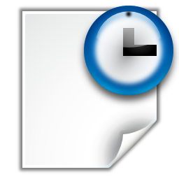 Actions document open recent icon