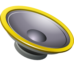 Actions speaker icon