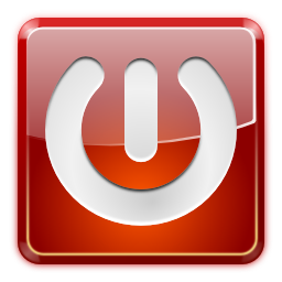 Actions system shutdown icon