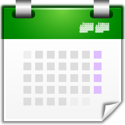 Actions view calendar icon