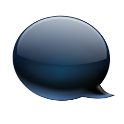 Actions view conversation balloon icon