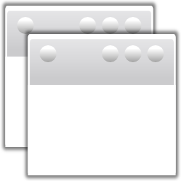 Actions window duplicate icon