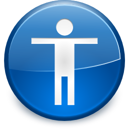 Apps preferences desktop accessibility icon
