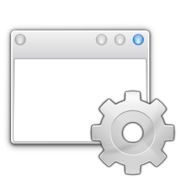 Apps preferences system windows actions icon
