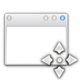 Apps preferences system windows move icon