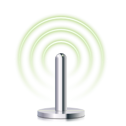 Devices network wireless connected 75 icon