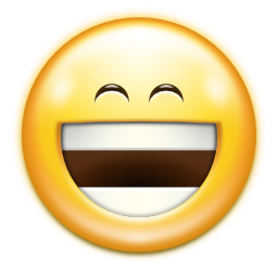 Emotes face laugh icon