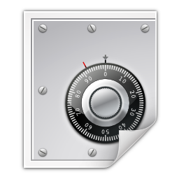 Mimetypes application pgp keys icon