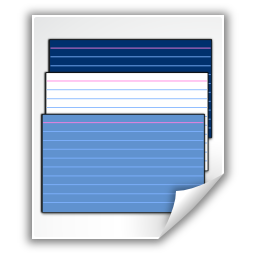Mimetypes application x kvtml icon