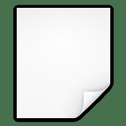 Mimetypes application x zerosize icon