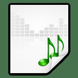 Mimetypes audio x generic icon