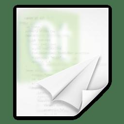 Mimetypes text x qml icon
